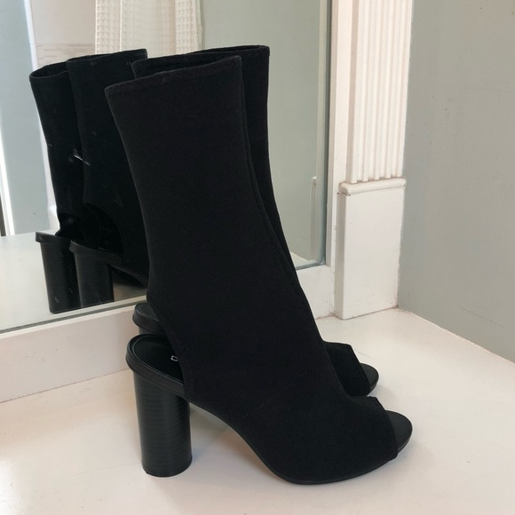 H\u0026M Shoes   Hm Open Toe Sock Boot